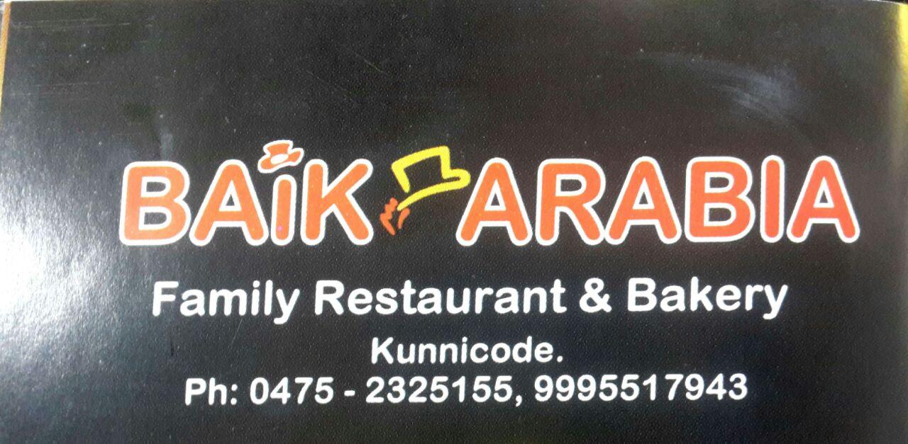 Arabian food in Kunicode, Kollam